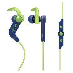 Наушники с микрофоном KOSS BT190iB, Bluetooth, вкладыши, синий/зеленый [15119063]