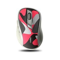 Мышь RAPOO M500, оптическая, беспроводная, USB, красный [18589]