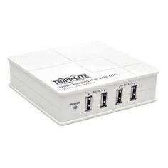 Настольное зарядное устройство TRIPPLITE U280-004-OTG, 4xUSB, 2A, белый