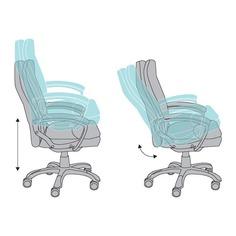 Кресло руководителя БЮРОКРАТ CH-868LT, на колесиках, искусственная кожа, коричневый [ch-868lt/brown]