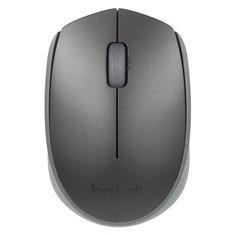Мышь LOGITECH M171, оптическая, беспроводная, USB, черный [910-004424]