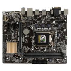 Материнская плата ASUS H110M-K, LGA 1151, Intel H110, mATX, Ret