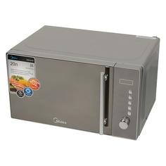 Микроволновая Печь Midea AM820CMF 20л. 800Вт серебристый