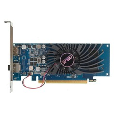 Видеокарта ASUS nVidia GeForce GT 1030 , GT1030-2G-BRK, 2ГБ, GDDR5, Low Profile, Ret