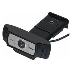 Web-камера LOGITECH HD Webcam C930e, черный и серебристый [960-000972]