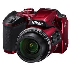 Цифровой фотоаппарат NIKON CoolPix B500, красный