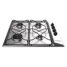 Варочная панель INDESIT PAAI 642 IX/I, независимая, нержавеющая сталь