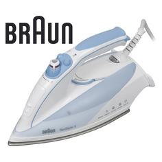 Утюг BRAUN TS525A, 2000Вт, белый/ голубой [0x12711016]