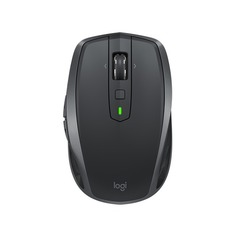 Мышь LOGITECH MX Anywhere 2S, оптическая, беспроводная, USB, графитовый [910-005153]