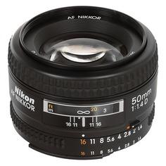Объектив NIKON 50mm f/1.4 AF Nikkor, Nikon F [jaa011db]