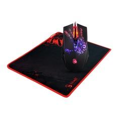 Мышь A4 Bloody A6081, игровая, оптическая, проводная, USB, черный и Tattoo [a60+b-081]