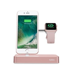 Док-станция BELKIN F8J183VFC00-APL, Apple Watch Series 1, Series 2, Edition, Nike+, Hermes, iPhone