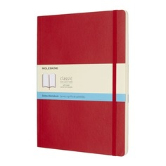 Блокнот Moleskine CLASSIC SOFT XLarge 190х250мм 192стр. пунктир мягкая обложка красный 6 шт./кор.