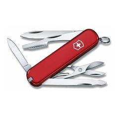 Складной нож VICTORINOX Executive, 10 функций, 74мм, красный