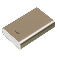 Внешний аккумулятор (Power Bank) ASUS ZenPower ABTU005, 10050мAч, золотистый [90ac00p0-bbt078]