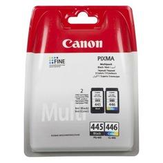 Картридж CANON PG-445/CL-446, многоцветный / черный [8283b004]
