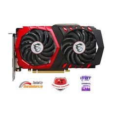 Видеокарта MSI nVidia GeForce GTX 1050TI , GTX 1050 Ti GAMING X 4G, 4ГБ, GDDR5, OC, Ret