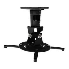 Кронштейн для проектора Cactus CS-VM-PR01-BK черный макс.23кг настенный и потолочный поворот и накло
