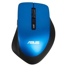 Мышь ASUS WT425, оптическая, беспроводная, USB, синий [90xb0280-bmu040]