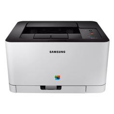 Принтер лазерный SAMSUNG Xpress C430 лазерный, цвет: белый [ss229f]