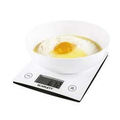 Весы кухонные SCARLETT SC-KS57B10, белый