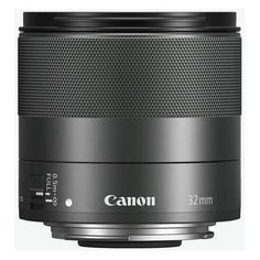 Объектив CANON 32mm f/1.4 EF-M STM, Canon EF-M, черный [2439c005]