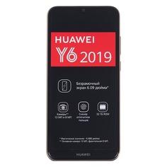Смартфон HUAWEI Y6 (2019) 32Gb, коричневый