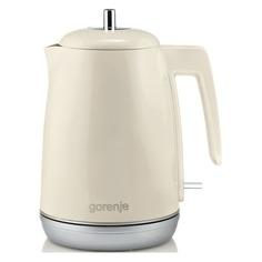 Чайник электрический GORENJE K15RL, 2200Вт, бежевый