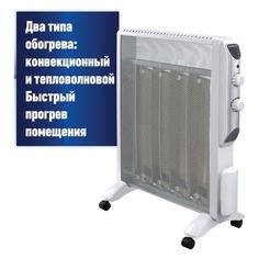 Микатермический обогреватель POLARIS PMH 2047, 2000Вт, белый/серебристый