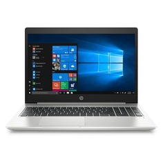 "Ноутбук HP ProBook 450 G6, 15.6"", Intel Core i3 8145U 2.1ГГц, 4Гб, 128Гб SSD, Intel UHD Graphics 620, Windows 10 Professional, 5PP79EA, серебристый"