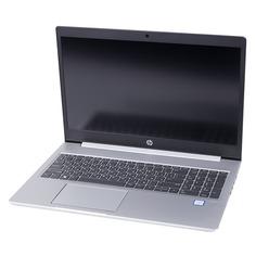 """Ноутбук HP ProBook 450 G6, 15.6"""", Intel Core i5 8265U 1.6ГГц, 8Гб, 1000Гб, nVidia GeForce Mx130 - 2048 Мб, Free DOS 3.0, 5PP97EA, серебристый"""