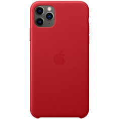 Чехол Apple iPhone 11 Pro Max Leather Case (PRODUCT)RED