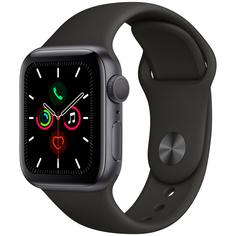 Смарт-часы Apple Watch S5 40mm Space Grey Sport Band (MWV82RU/A)