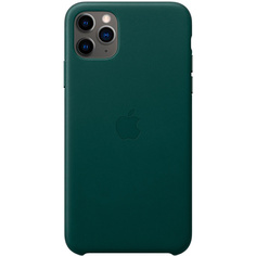 Чехол Apple iPhone 11 Pro Max Leather Case Forest Green