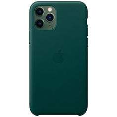 Чехол Apple iPhone 11 Pro Leather Case Forest Green