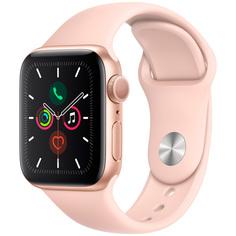Смарт-часы Apple Watch S5 40mm Gold Sport Band (MWV72RU/A)