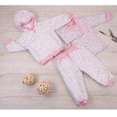 Комплект толстовка/джемпер/брюки Ярко Капитоша, цвет: белый/розовый
