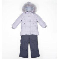 Комплект куртка/полукомбинезон Batik Лида, цвет: фиолетовый БАТИК