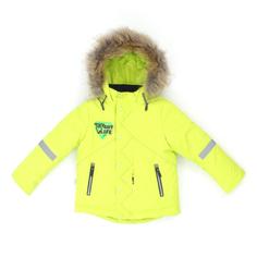 Комплект куртка/полукомбинезон Аврора Робби, цвет: зеленый/синий Avrora