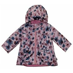 Ветровка Даримир Карусель, цвет: розовый/голубой