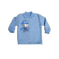 Кофта Babyglory Супергерои, цвет: голубой
