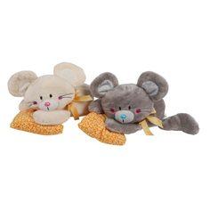 Мягкая игрушка Fluffy Family Мышонок Мики-лежебока, 20 см