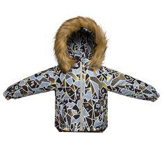 Куртка Arctic Kids, цвет: коричневый