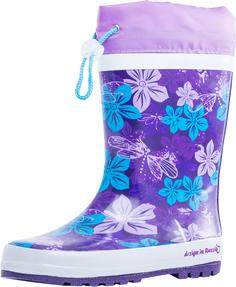 Резиновые сапоги Котофей, цвет: сиреневый/фиолетовый