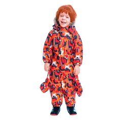 Комбинезон Premont Веселые истории Клиффорда, цвет: оранжевый