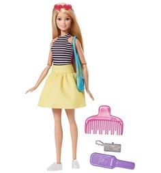 Кукла Barbie в платье-трансформере