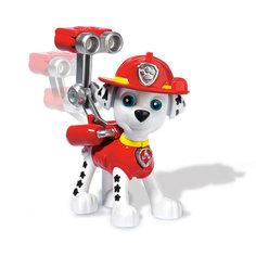 Фигурка спасателя с рюкзаком Paw Patrol Маршал – щенок-пожарный