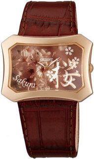 Японские женские часы в коллекции Dressy Женские часы Orient UBSQ003Z-ucenka