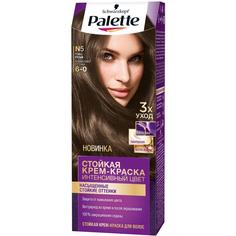 Краска для волос Palette Интенсивный цвет N5 Темно-русый 110 мл