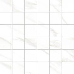 Мозаика Vitra Marmori Калакатта Белый 5х5 30x30 см